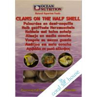 Ocean Nutrition Clams on the half shell 100g - Małże w skorupie